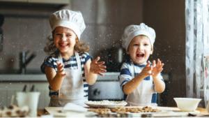 Chicos: ¡A la cocina!