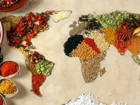 el mundo y la gastronomía
