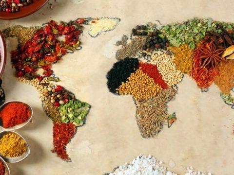 Ingredientes únicos que tornam a culinária de cada país característica