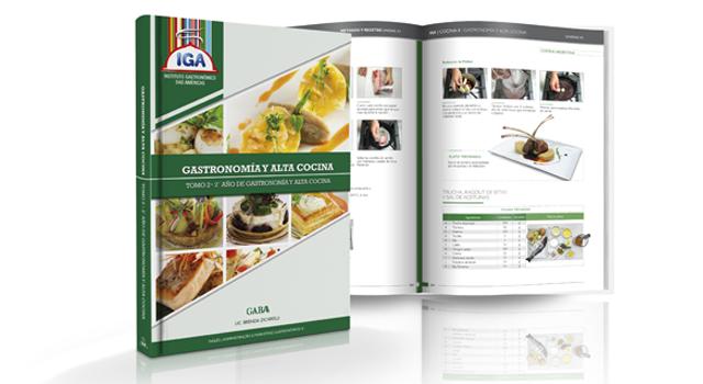 Curso de gastronom a y alta cocina iga argentina - Curso de cocina profesional ...
